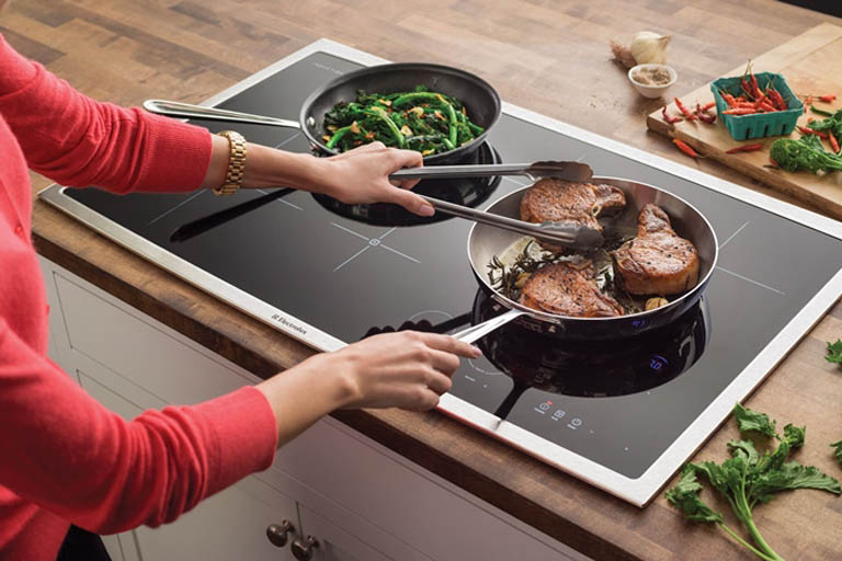 Cooking using Induction Cooktop
