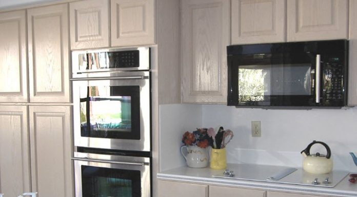 New wall oven, microwave and cooktop