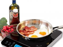 duxtop LD 1800 watt portable as one of the best induction stove tops