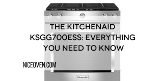 The KitchenAid KSGG700ESS