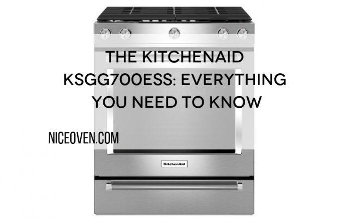 The KitchenAid KSGG700ESS