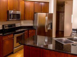 variety kitchen appliances